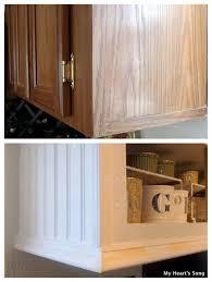 kitchen cabinet trim ideas best 25 cabinet trim ideas on kitchen cabinet molding