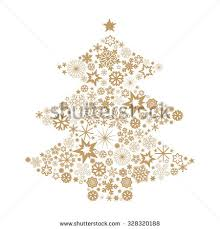tree snowflakes stock vector 328320188