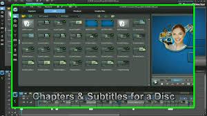 cyberlink powerdirector 9 edit disc menus youtube