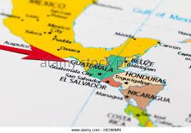 america map guatemala map of guatemala stock photos map of guatemala stock images alamy