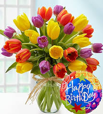 birthday flowers happy birthday tulips distinctive designs with marlo