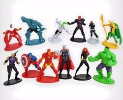 marvel cake toppers marvel cake toppers set of 12 figures iron