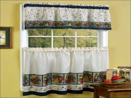 Country Curtains For Kitchen by Kitchen Country Curtains For Kitchen Swag Valance Striped