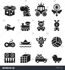 box car clipart toy icons set robot ball car stock vector 369930857 shutterstock