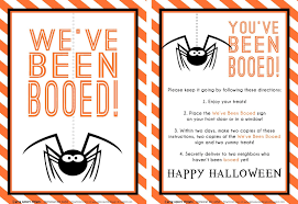 Halloween Poems Short It U0027s Written On The Wall 16 Versions You U0027ve Been Booed Fun