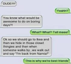 Funny Best Friend Memes - funny text were best friends