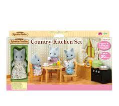 sylvanian families mutfak seti armağan oyuncak