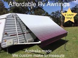 Rollout Awnings Burgundy 13 U0027 Replacement Caravan Roll Out Awning Vinyl Fabric