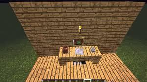 tuto comment faire un bureau dans minecraft tout les version