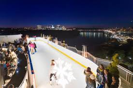 sip boozy chocolate at watergate u0027s winter ice rink eater dc