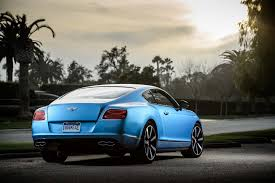 blue bentley 2014 bentley continental gt v8 s first test motor trend