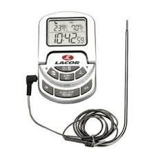 thermometre cuisine pas cher lacor thermomètre digital de cuisine avec sonde 0 à 300 c
