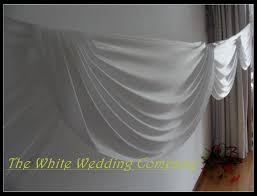 wedding backdrop curtains aliexpress buy 3mx6m white silk backdrop curtain with
