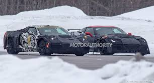 corvette supercar 2019 chevrolet corvette c8 spy shots