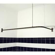 Duo Shower Curtain Rod Problem Solvers 10 Uniquely Shaped Shower Curtain Rods