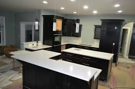 Kitchen Cabinets Merillat Engaging Black Color Wooden Merillat Kitchen Cabinets With Silver
