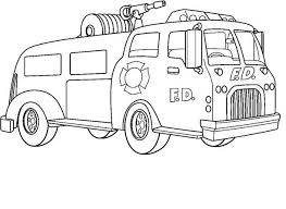 printable fire truck coloring pages coloring