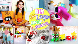 diy fall room decor easy crafts for kids and playroom organization