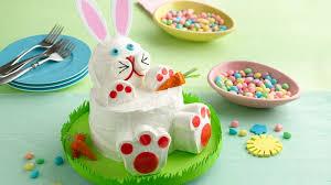rabbit cake easter bunny rabbit cake recipe bettycrocker