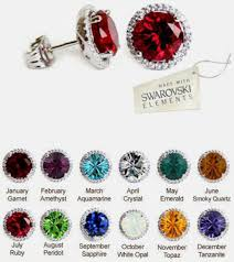 s birthstone earrings birthstone stud earrings january birthstone stud earrings