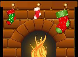 christmas fireplace clipart cheminee website