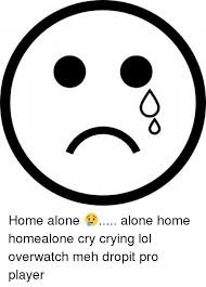 Meh Face Meme - aa home alone alone home homealone cry crying lol overwatch meh