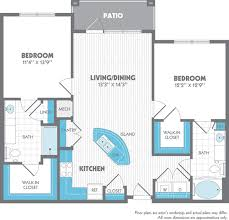 1 2 And 3 Bedroom Floor Plans U0026 Pricing Jefferson Westshore