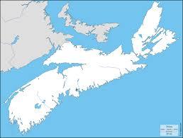 Canada Blank Map Nova Scotia Road Map Map Of Nova Scotia Nova Scotia Map Counties