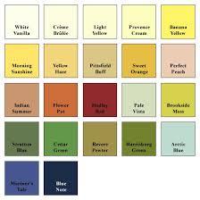 davies paint color chart ideas golden treasure paint supply