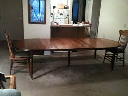 Dining Room Tables With Leaf by Custom Replacement Of Five 5 Table Leaves To A Family Antique