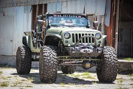 jeep wrangler garage scorpio s garage the jk crew is a jeep wrangler cranked up to 11