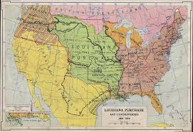 Louisiana Rivers Map After Defeat In San Dominguehaiti Napoleon And His Advisors Usa