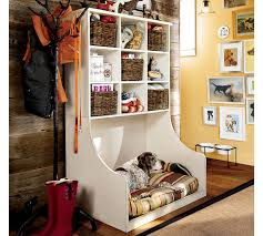 storage room and a dog bed how clever interior design