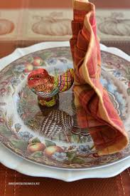 turkey fantail napkin fold tutorial for thanksgiving home is