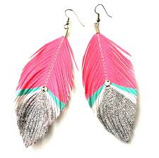 feather earrings for kids 12 best feather earrings images on feather earrings