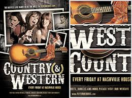 template flyer country free country and western flyer template 2 flyerheroes