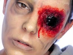 halloween makeup blood