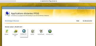 acces bureau a distance applications à distance procédures d utilisation faculté de