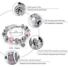 and flower bead charm bracelet friendship bangle various designs