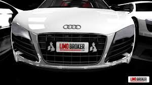 limousine lamborghini inside audi r8 limo limo broker youtube