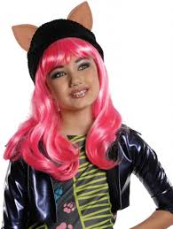 Monster High Halloween Costumes For Girls Monster High Howleen Wolf Wig For Children By Rubies 52814