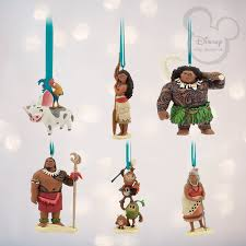 2017 lower prices disney moana ornaments set of 6 up to 50