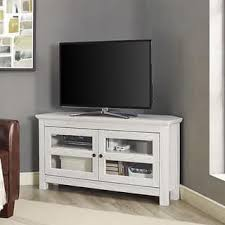 Corner Tv Cabinet For Flat Screens Corner Tv Stands For Less Overstock Com
