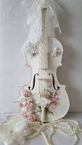 Home Decoration Gifts Altered Violin Shabby Chic Home Decor Gift For Her Gift For