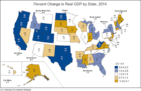 map us states world economies bea news release state personal income 2014