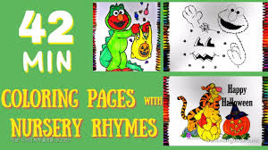 halloween coloring pages kids sesame street elmo winnie