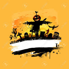 halloween background design with room for text royalty free