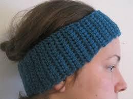 crochet ear warmer headband crochet spot archive crochet pattern basic earwarmer