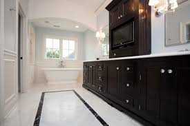 Wainscoting Bathroom Vanity Bathroom Vanity With Center Tower Design Ideas