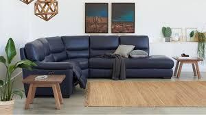 Leather Recliner Corner Sofa Studio Powered Leather Recliner Corner Sofa Recliner Lounges